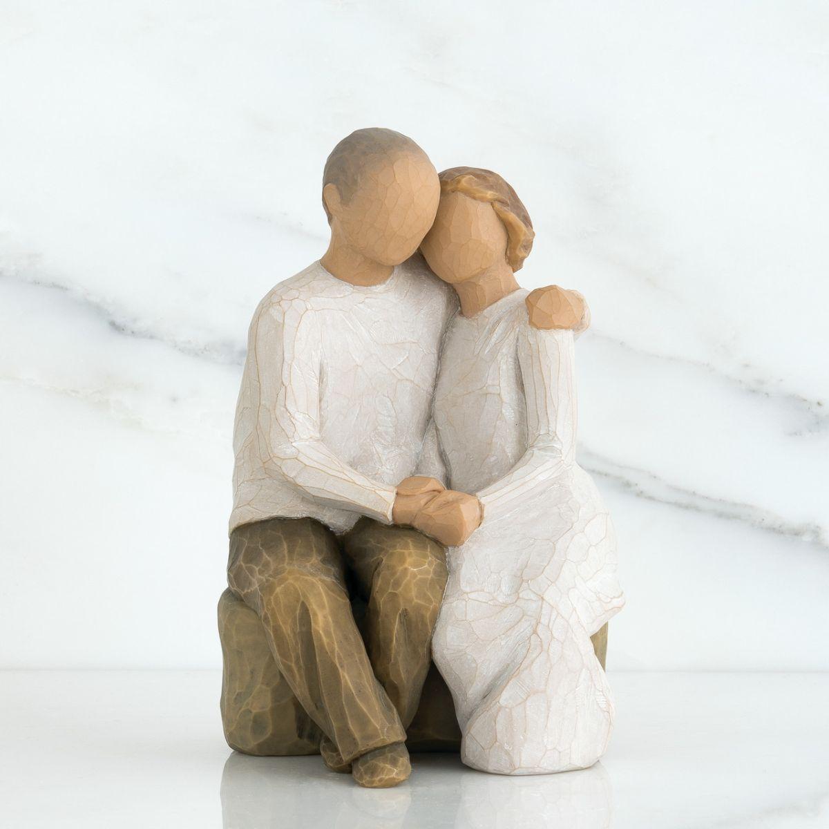 ウィローツリー彫像 【Anniversary】 - 二人の記念日