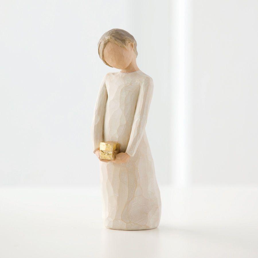 ウィローツリー彫像 【Spirit of Giving】 - 渡したいもの