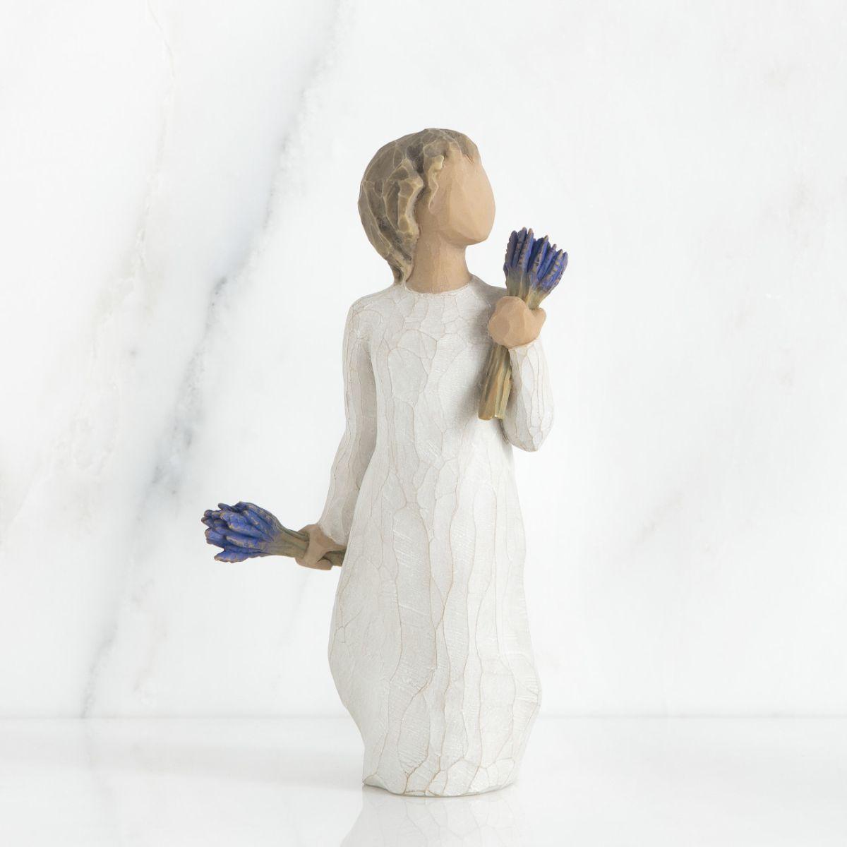 ウィローツリー彫像 【Lavender Grace】 - ラベンダーの恵み