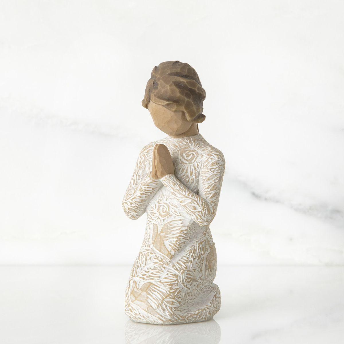ウィローツリー彫像 【Prayer of Peace】 - 静かな祈り