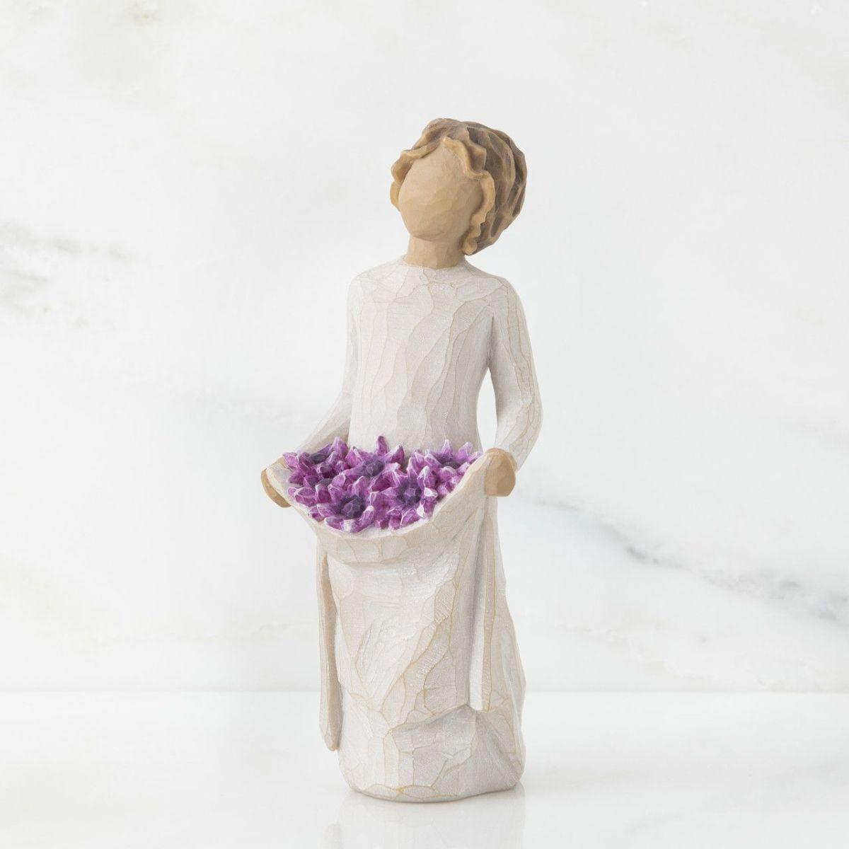ウィローツリー彫像 【Simple Joys】 - 素朴な喜び