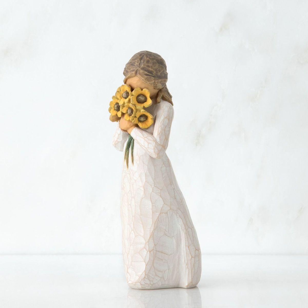 ウィローツリー彫像 【Warm Embrace】 - 暖かな抱擁