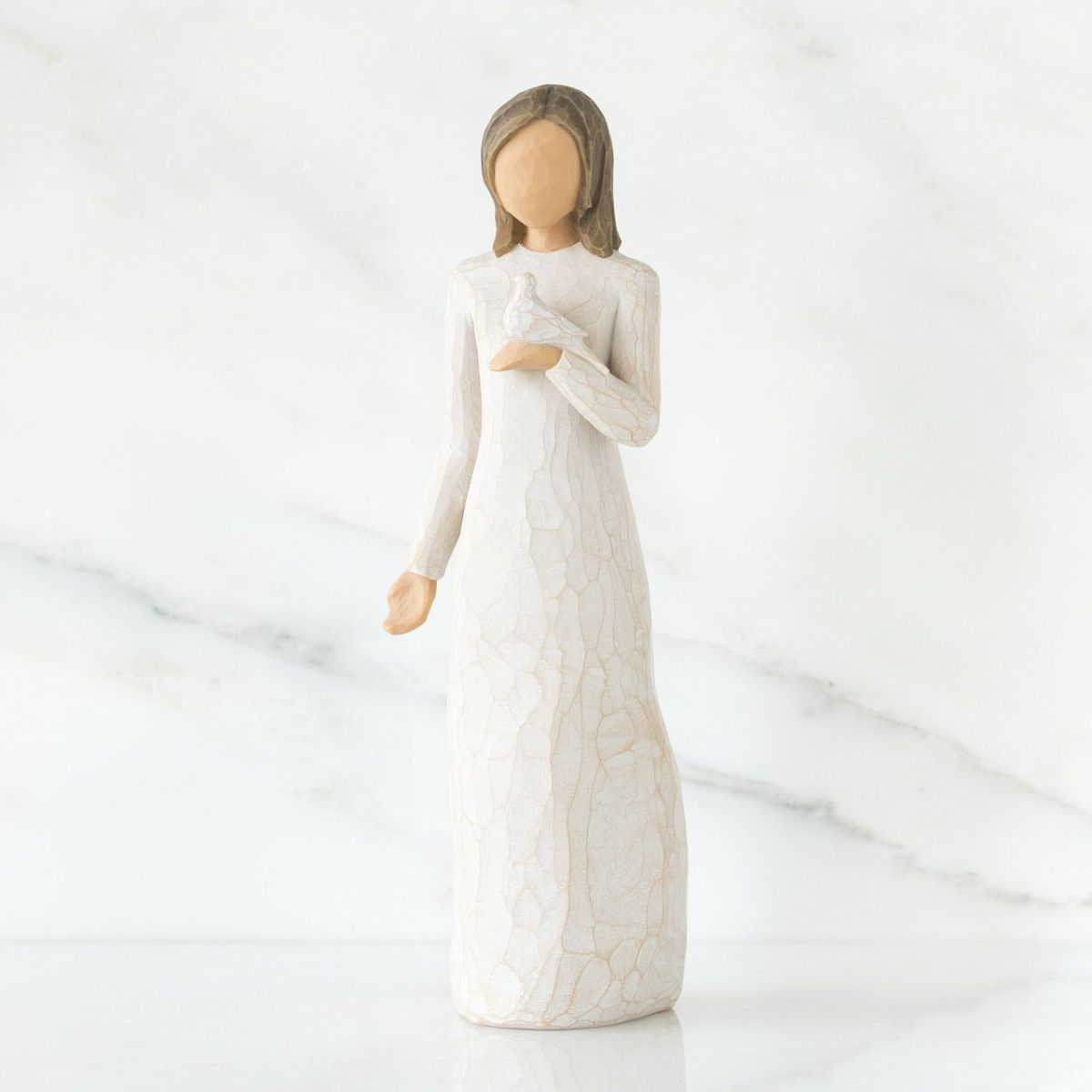 ウィローツリー彫像 【With sympathy】 - 共感