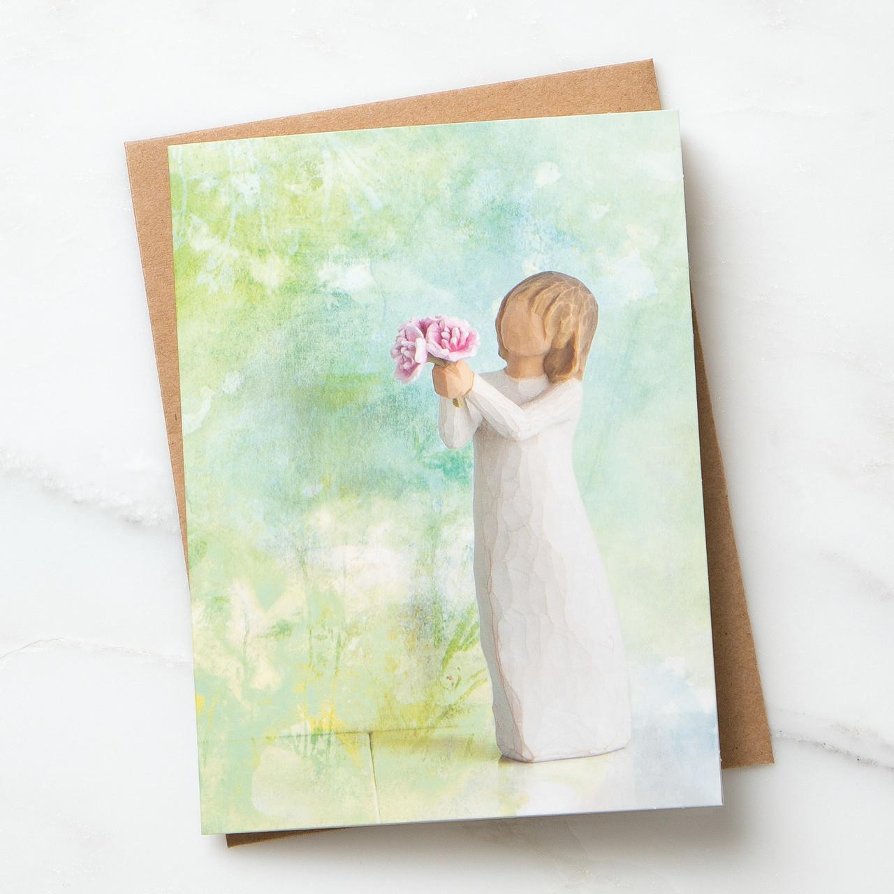 ウィローツリー ノートカード 【Thank You】 - ありがとう