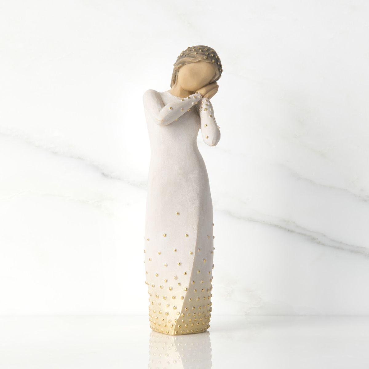ウィローツリー 彫像 【Wishing】 - 願い