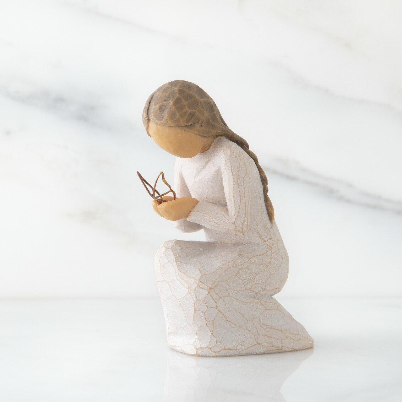 ウィローツリー彫像 【Quiet Wonder】 - 内なる感動