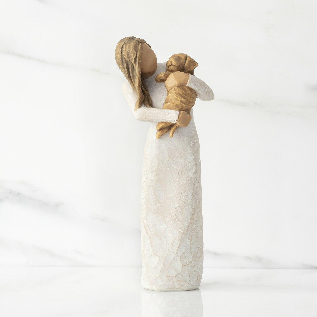 ウィローツリー彫像 【Adorable You(Golden)】 - 愛しいあなた