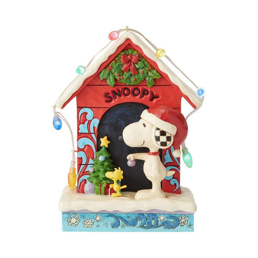 スヌーピー クリスマス ドッグハウス