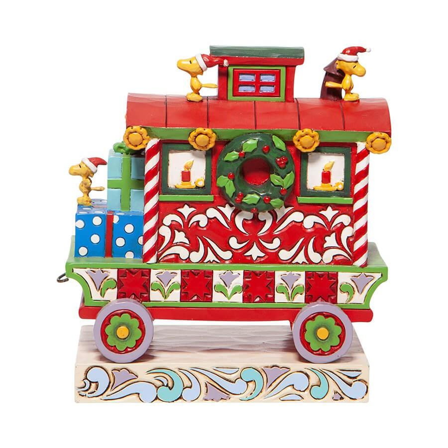 ウッドストック クリスマストレイン 車掌車