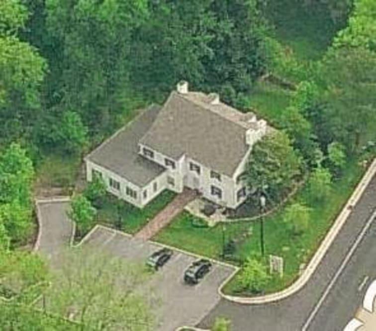 Dixon-Jackson House aerial view
