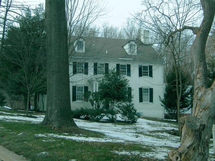 the Dixon-Jackson house in Delaware