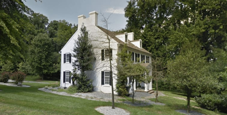 Current Google Street View screenshot of the Dixon-Jackson House: