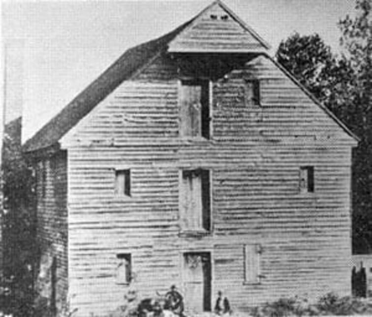 Simon Dixon Mill on Cane Creek -- Chatham County, North Carolina
