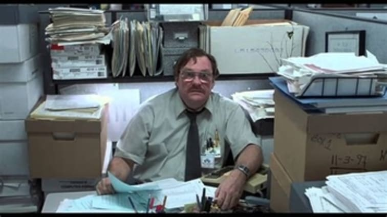 Still from the movie Office Space
