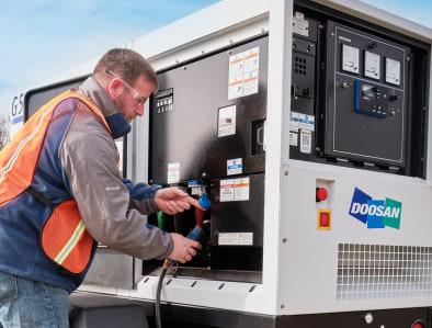Doosan Generator Hook-up