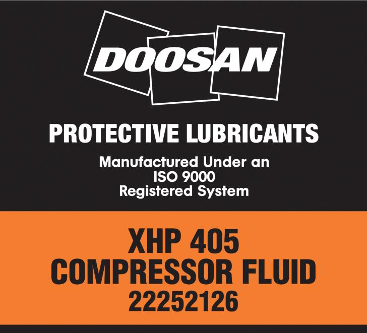 XHP 405 Fluid Label