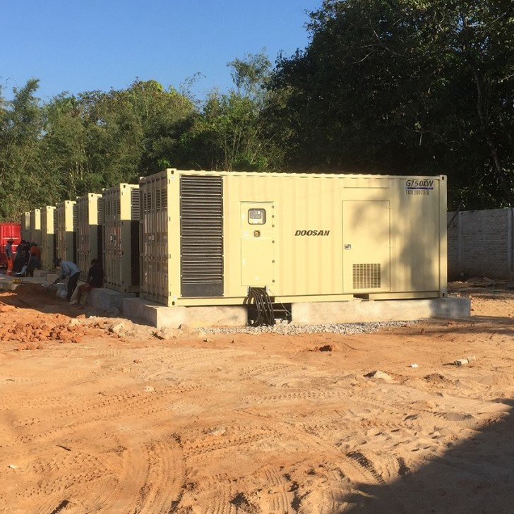G25 generator operator panel