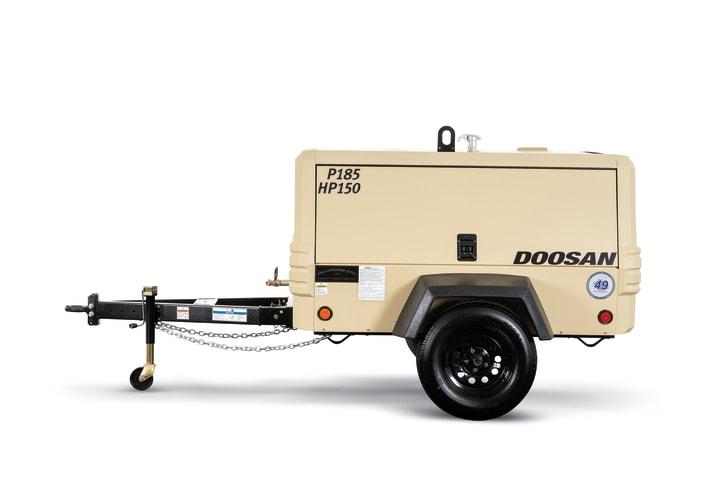 P185-HP150 Portable Air Compressor