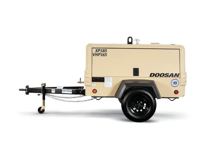 XP185-VHP165 Portable Air Compressor