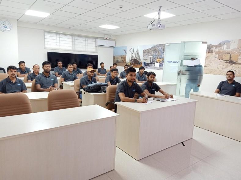 Doosan dealer classroom training