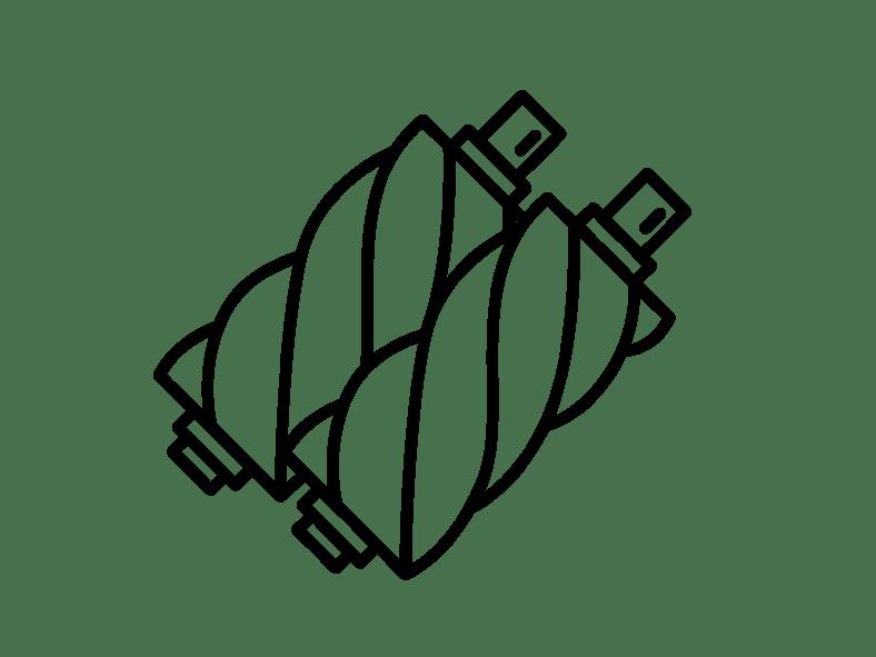Doosan Airend Rotor Pair
