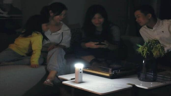 Lanterna multifunctionala 3 in 1