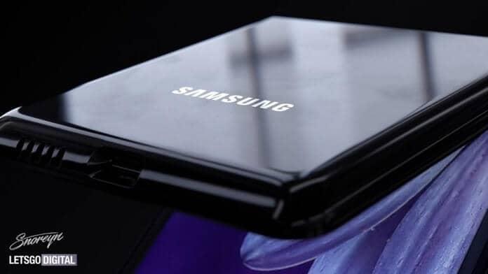 Samsung Z Flip design