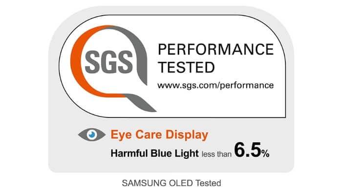 Ecran OLED Samsung testat