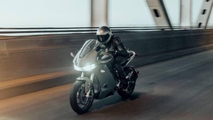 Motoclicleta electrica Zero SR-S
