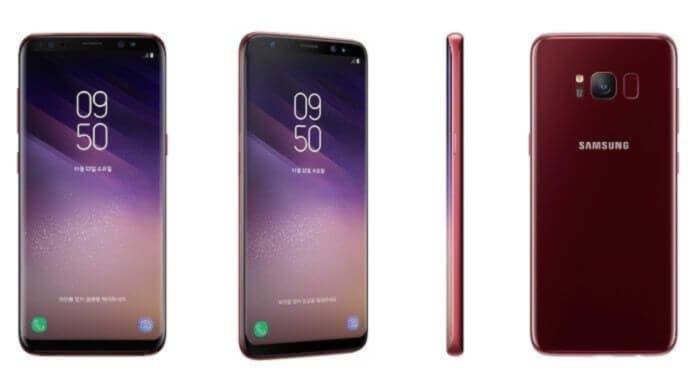 Samsung Galaxy S8 Rosu Burgund