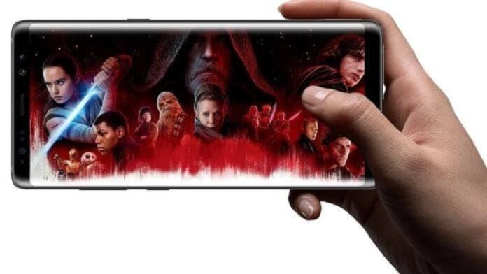 Samsung telefon editie Star Wars