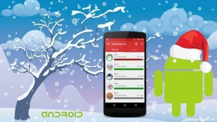 Aplicatii Android Craciun