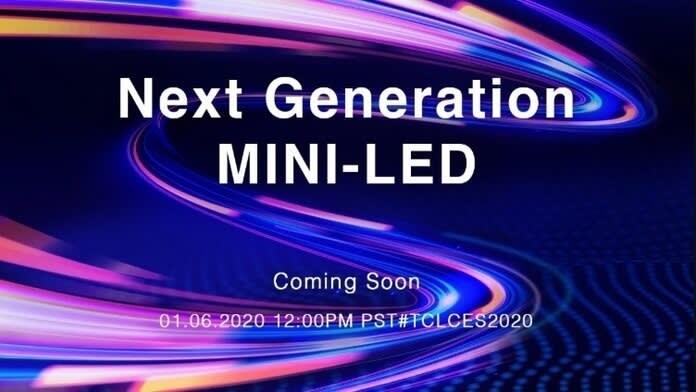 TCL tehnologie tv mini-LED