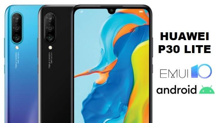 Actualizare EMUI 10 pentru Huawei P30 Lite