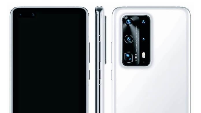 Configuratie camera Huawei P40 Pro