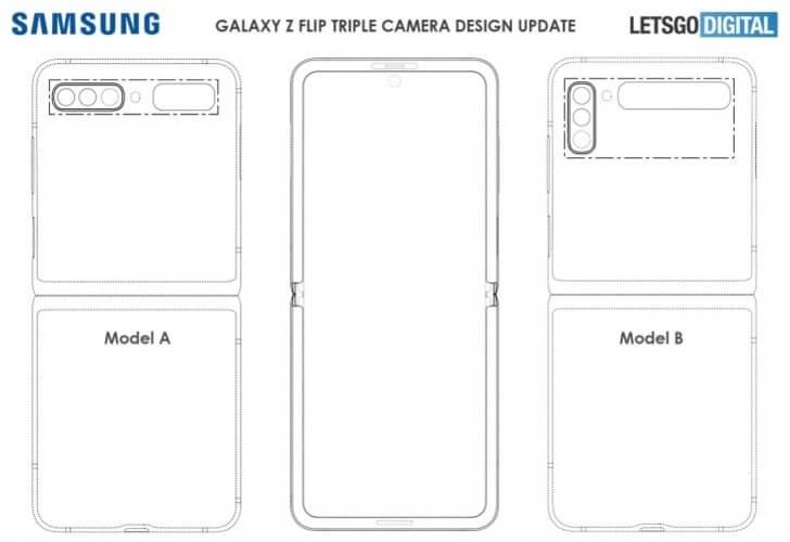 Galaxy Z Flip 2 brevet