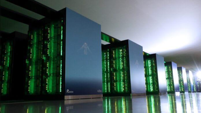 Supercomputerul japonez Fugaku