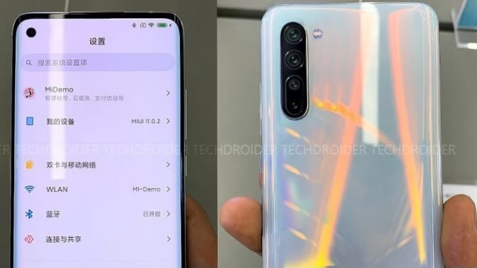 Xiaomi Mi 10 cameră 108MP