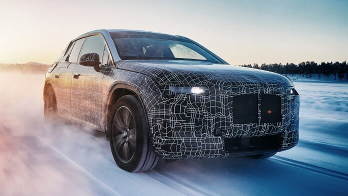 BMW iNext SUV electric 5G