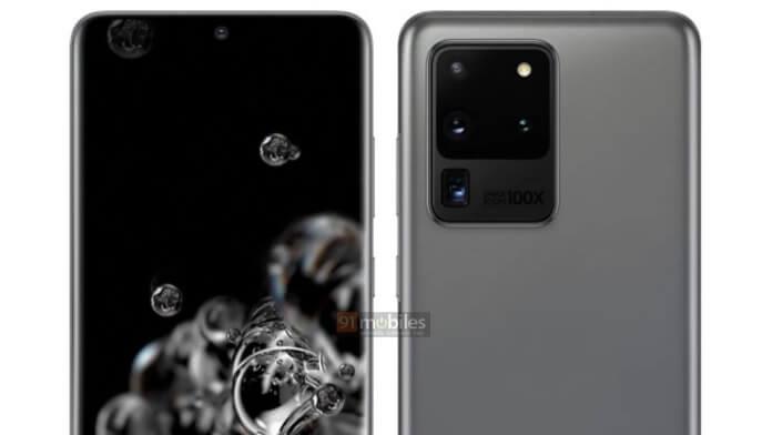 Samsung galaxy S20 Ultra imagini-specificatii-pret