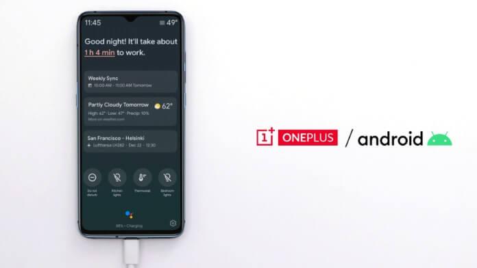 Modul Ambient al Google Assistant pe telefoanele OnePlus