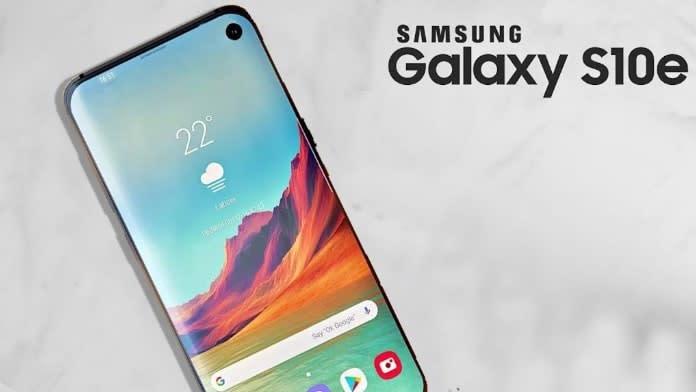 Numele Galaxy S10e confirmat oficial de Samsung