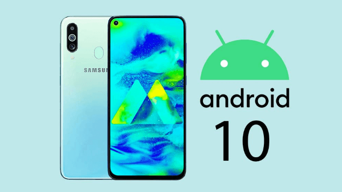 Smartphone Galaxy Android 10