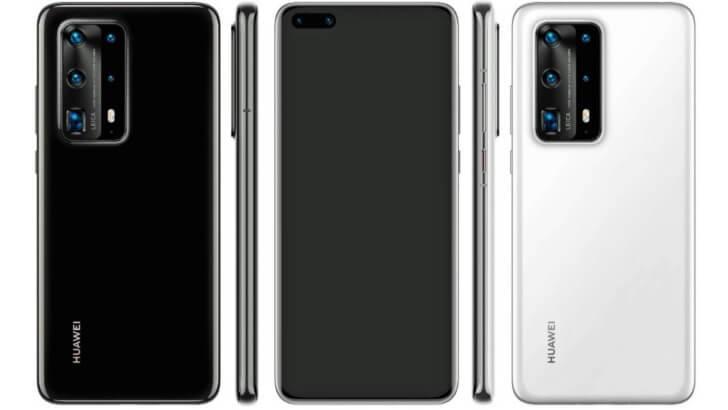 Seria Huawei P40 WiFi 6+