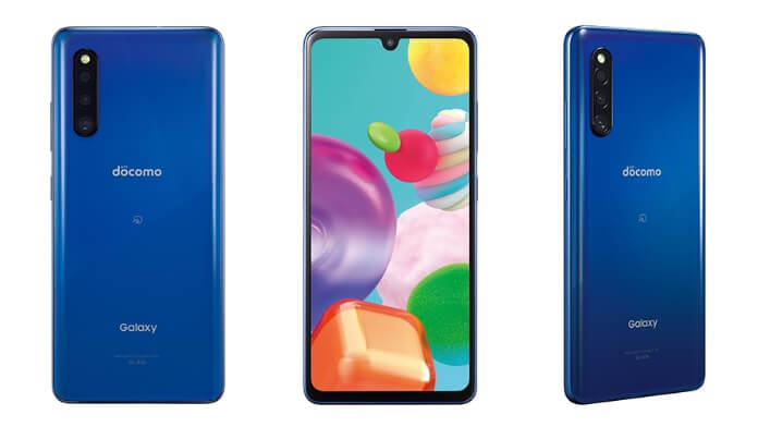 Samsung Galaxy A41 culoare albastru