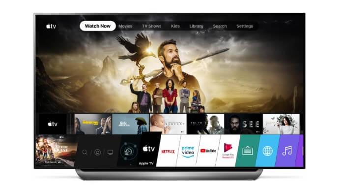 Aplicația Apple TV pe televizoare LG 2019