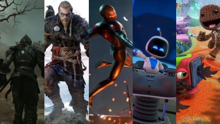 Top cele mai bune jocuri PS5