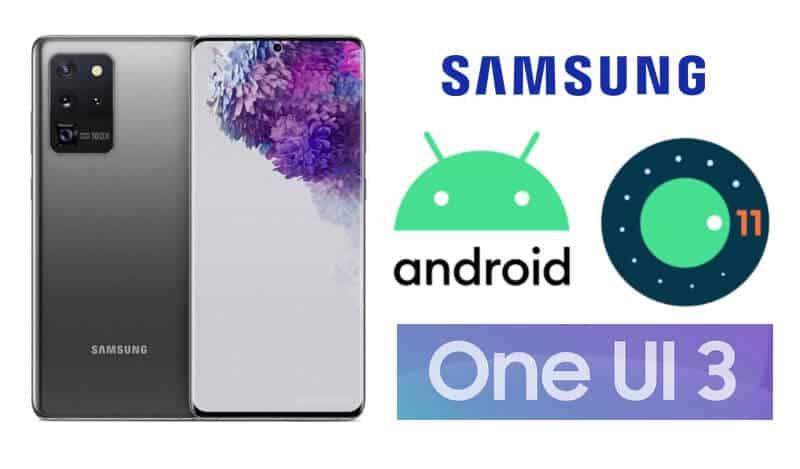 Actualizarea One UI 3.0 Android 11 Samsung