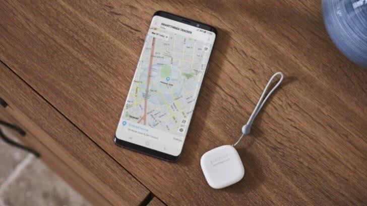 Samsung Galaxy Smart Tag tracker