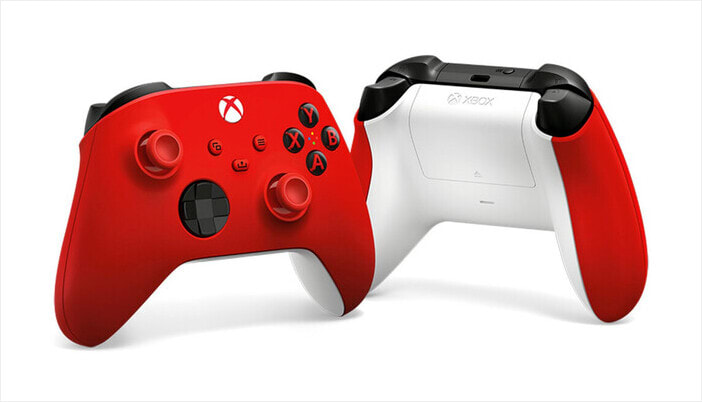 Controler wireless Xbox Pulse Red